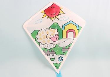 DIY彩绘风筝